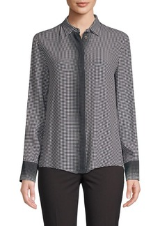 Piazza Sempione Gingham Dégradé Button-Down Shirt