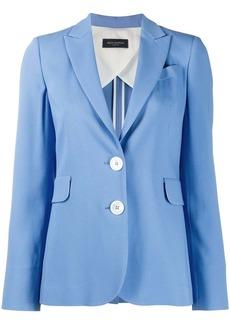 Piazza Sempione peak lapel single breasted jacket