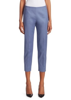 Piazza Sempione Audrey Side-Zip Pants