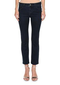 Piazza Sempione Five-Pocket Cropped Jeans