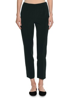 Piazza Sempione Monia Virgin Wool Slim Ankle Pants