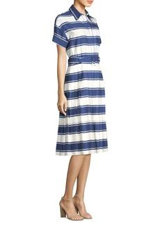 Piazza Sempione Stripe Shirt Dress