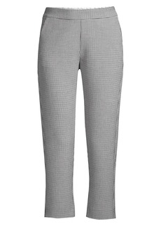 Piazza Sempione Relaxed Houndstooth Pants