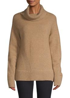 Piazza Sempione Ribbed Turtleneck Sweater