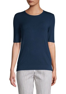 Piazza Sempione Short Sleeve Knit Top