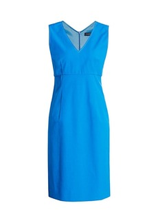Piazza Sempione Sleeveless V-Neck Shift Dress