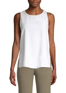 Piazza Sempione Sleeveless Vented Top