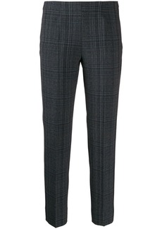 Piazza Sempione slim-fit plaid trousers