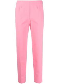Piazza Sempione slit-cuff mid-rise trousers
