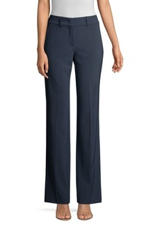 Piazza Sempione Straight-Leg Stretch-Wool Pants