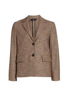 Piazza Sempione Stretch Two-Button Jacket