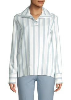 Piazza Sempione Striped Polo Tunic