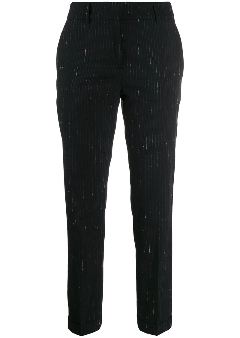 Piazza Sempione striped tailored trousers