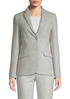 Piazza Sempione Textured Stretch Blazer
