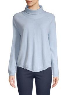 Piazza Sempione Virgin Wool & Cashmere Turtleneck Sweater