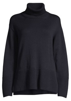 Piazza Sempione Virgin Wool Turtleneck Sweater