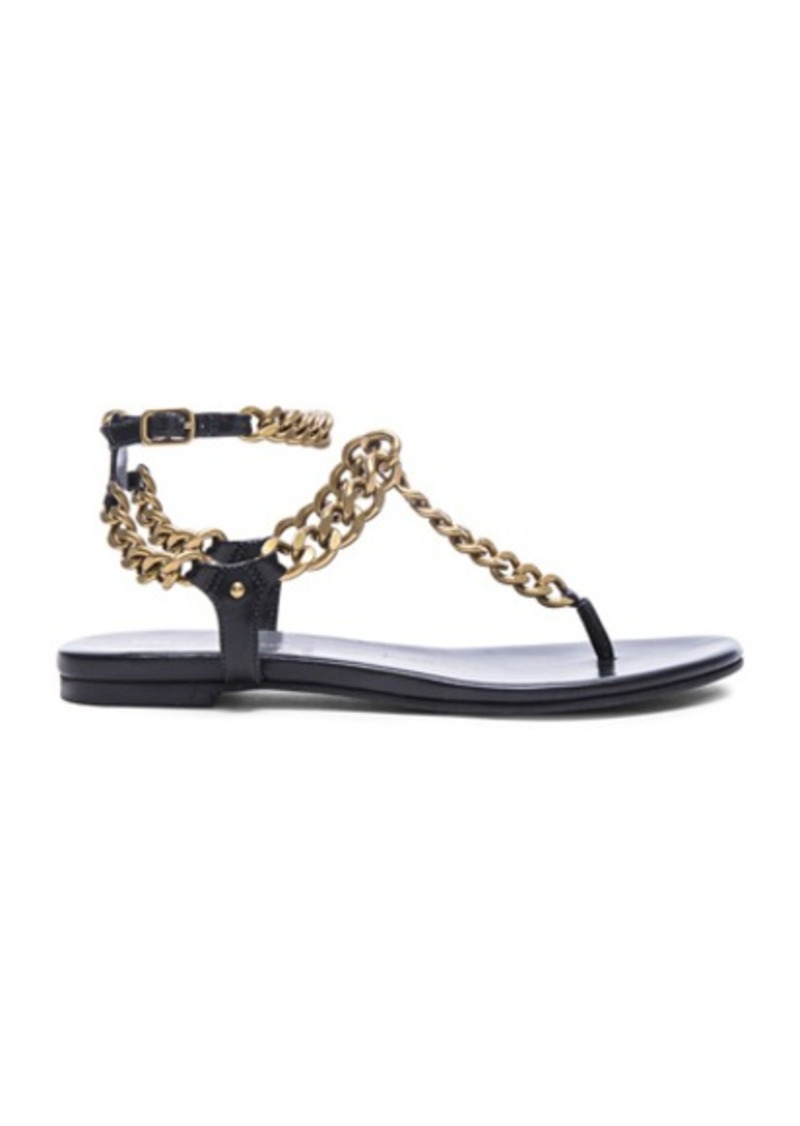 Pierre Balmain Chain Sandals