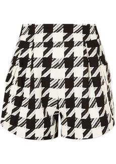 Pierre Balmain Houndstooth Tweed Shorts