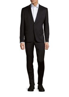 Pierre Balmain Solid Wool Suit