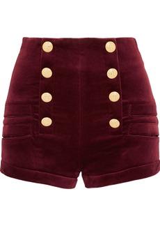 Pierre Balmain Velvet shorts