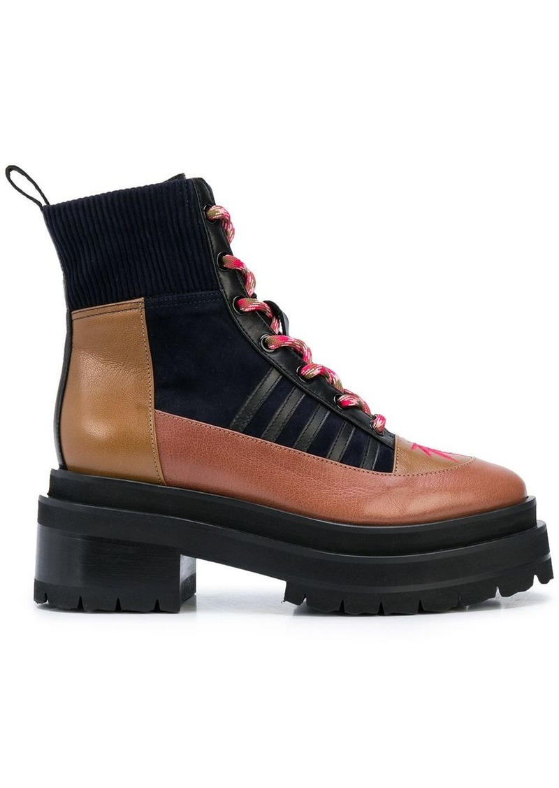 Pierre Hardy Alpha Camp chunky ankle boots