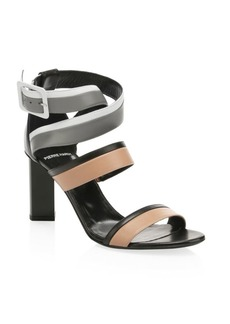 Pierre Hardy Alpha Leather Sandals