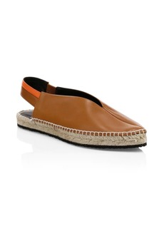Pierre Hardy Alpha Leather Slingback Espadrilles