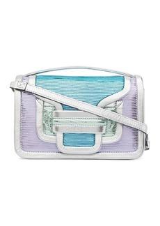 Pierre Hardy Alpha lizard-skin effect shoulder bag
