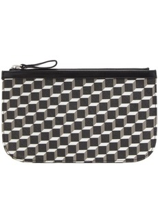 Pierre Hardy Black & White Medium Maroquinerie Pouch