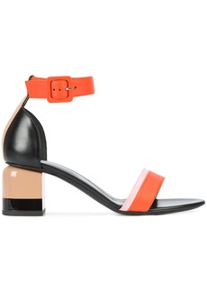Pierre Hardy block heel sandals