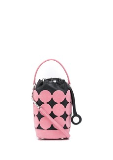 Pierre Hardy Bulles leather bucket bag