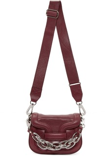 Pierre Hardy Burgundy Micro Chain Bag