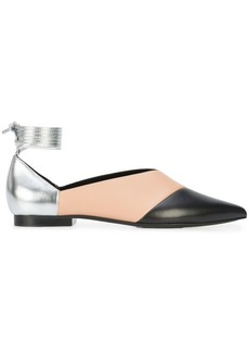 Pierre Hardy colour block ballerina flats