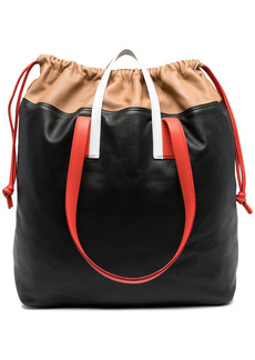 Pierre Hardy colour-block leather tote bag