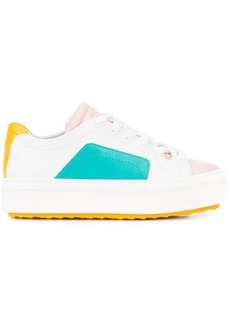 Pierre Hardy colourblock lace-up sneakers