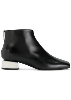 Pierre Hardy contrast sculpted heel ankle boots