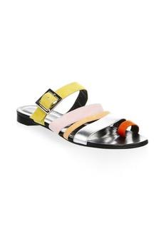 Pierre Hardy Dani Leather Slides