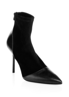 Pierre Hardy Dolly Suede & Leather Sock Booties