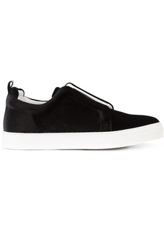 Pierre Hardy elastic band slip-on sneakers