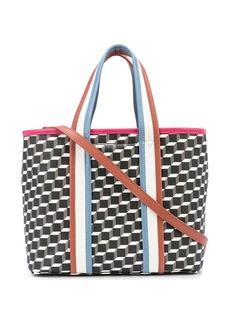 Pierre Hardy geometric print tote bag