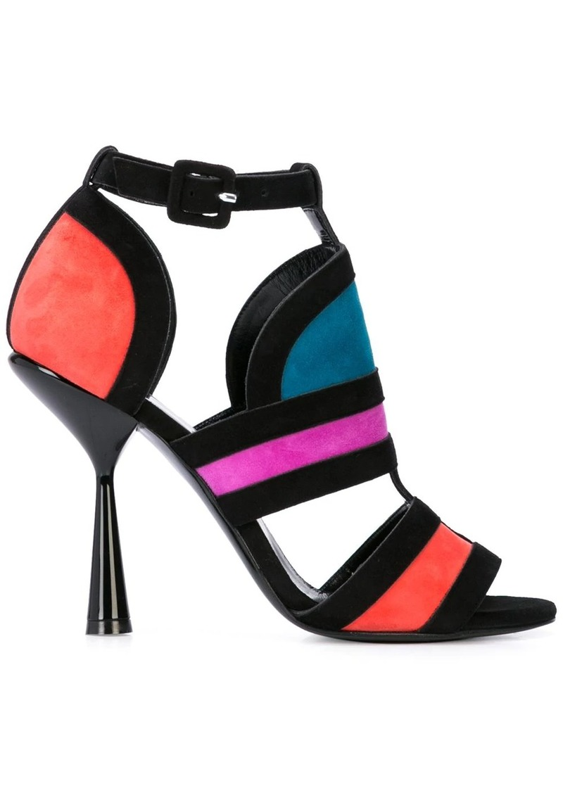 Pierre Hardy heeled Frame sandals
