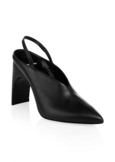 Pierre Hardy Jessie Leather Slingback Heels