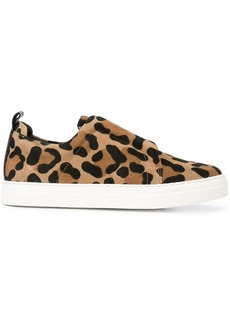 Pierre Hardy leopard-print sneakers