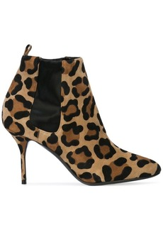 Pierre Hardy leopard printed classic boots