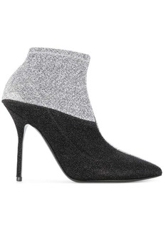 Pierre Hardy metallic ankle boots