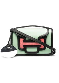 Pierre Hardy panelled leather crossbody bag