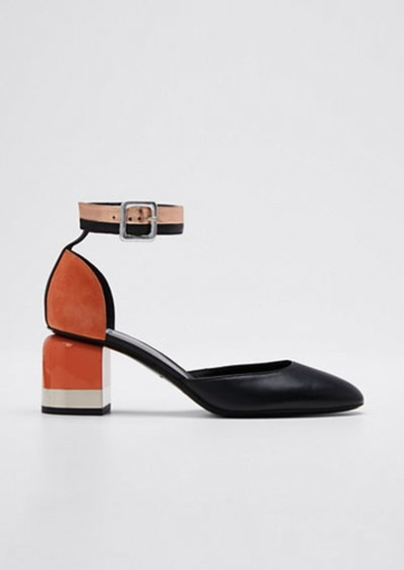 Pierre Hardy Alpha Gae Ankle Pumps