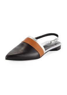 Pierre Hardy Alpha Mixed Slingback Loafers
