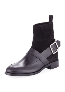 Pierre Hardy Fusion Leather Sock Hybrid Boot