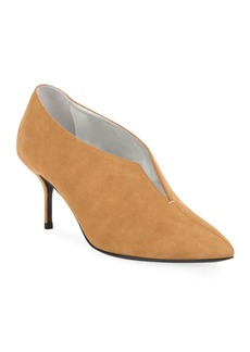 Pierre Hardy Secret Suede Ankle Pumps